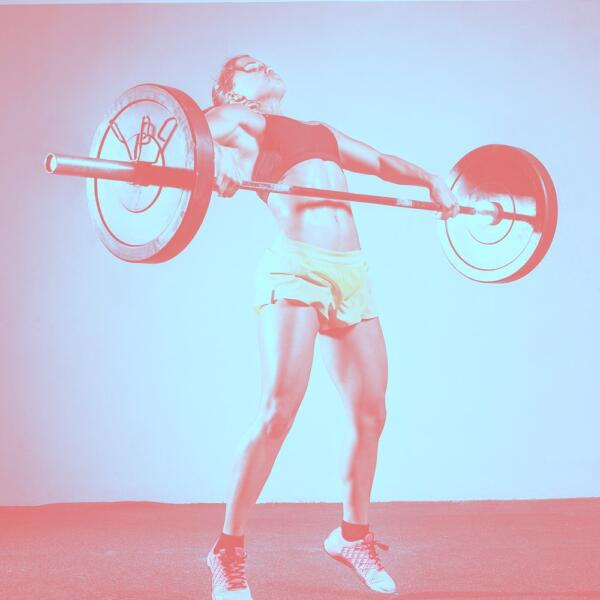 Olympic-Lifting Icon